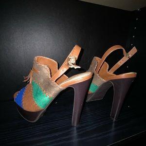 Shoes - NEW * Peep toe heels